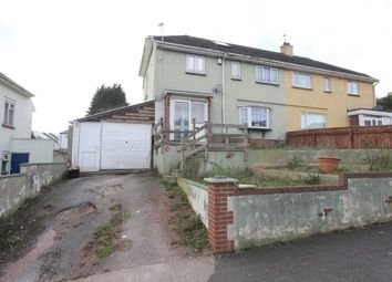 Thumbnail 5 bed semi-detached house for sale in Redwell Road, Paignton