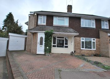 Thumbnail 4 bed semi-detached house to rent in Valence End, Dunstable