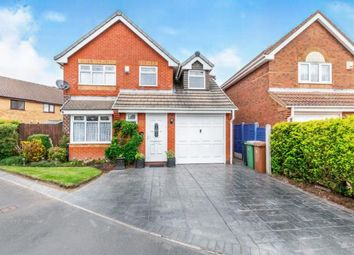 Thumbnail 3 bed detached house for sale in Periwinkle Close, Clayhanger, Brownhills, Walsall