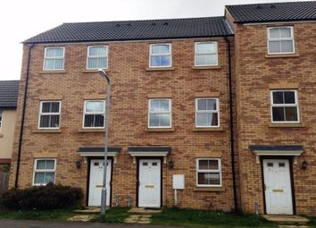 Thumbnail 3 bed terraced house to rent in Carlisle Close, Corby, Northamptonshire