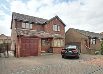 Thumbnail 4 bed detached house for sale in Haymer Drive, Hedon, Hull