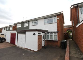 Thumbnail 3 bed semi-detached house to rent in Northway, Dudley, West Midlands