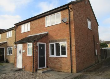 Thumbnail 2 bed end terrace house to rent in School Lane, Swavesey, Cambridge