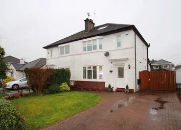 Thumbnail 3 bed semi-detached house for sale in Castle Crescent, Bishopton, Renfrewshire, .