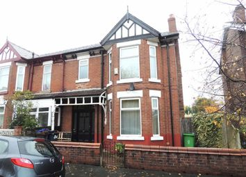 Thumbnail 3 bed property to rent in Victoria Avenue, Levenshulme, Manchester