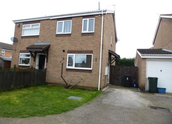 Thumbnail 2 bed semi-detached house for sale in Crossley Close, Maltby, Rotherham