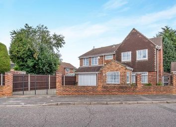 Thumbnail 6 bed detached house for sale in Kingston Crescent, Chatham, Kent