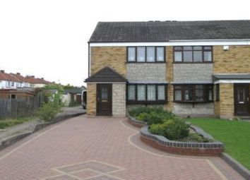 Thumbnail 3 bed semi-detached house for sale in Thompson Close, Dudley Wood, Dudley, West Midlands
