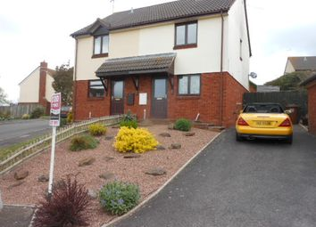 Thumbnail 2 bed semi-detached house to rent in Hobbs Way, Bow, Crediton