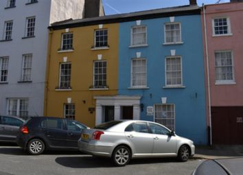 Thumbnail 4 bed town house for sale in 12 Hill Street, Haverfordwest, Pembrokeshire