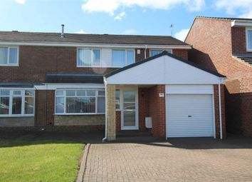 Thumbnail 4 bed semi-detached house for sale in Porchester Drive, Eastfield Chase, Cramlington