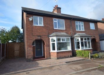 Thumbnail 3 bed semi-detached house to rent in Stanley Road, West Bridgford, Nottingham