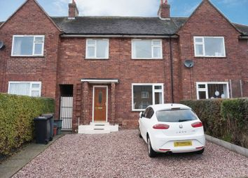 Thumbnail 3 bed town house to rent in Rowley Avenue, Chesterton, Staffordshire