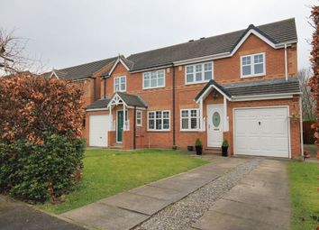 Thumbnail 3 bed semi-detached house for sale in Hazel Leigh, Great Lumley, Chester Le Street