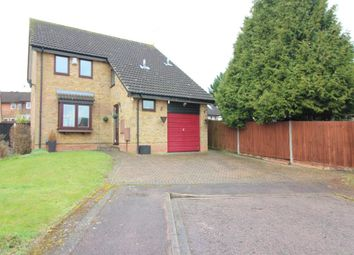 Thumbnail 3 bed detached house for sale in Huckleberry Close, Luton, Bedfordshire
