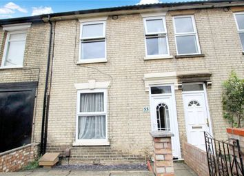 Thumbnail 2 bed terraced house for sale in Cemetery Road, Ipswich, Suffolk