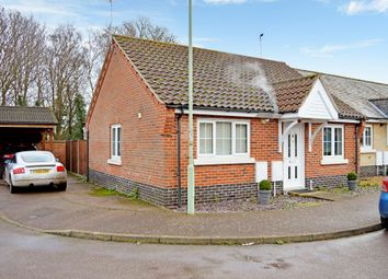 Thumbnail 2 bed terraced bungalow for sale in Dobson Way, Beccles