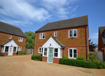 Thumbnail 4 bed detached house for sale in Paiges Close, Dersingham, King's Lynn