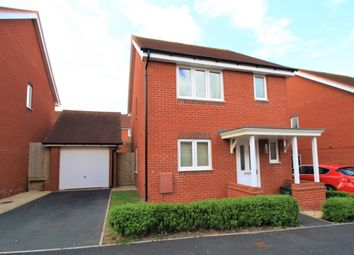 Thumbnail 3 bedroom detached house to rent in St. Michaels Way, Cranbrook, Exeter