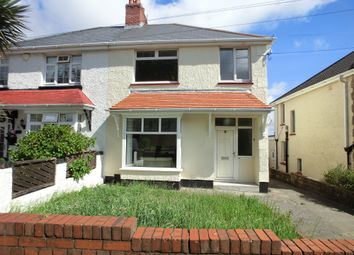 Thumbnail 3 bed semi-detached house for sale in Townhill Road, Townhill, Swansea. 6Pt.