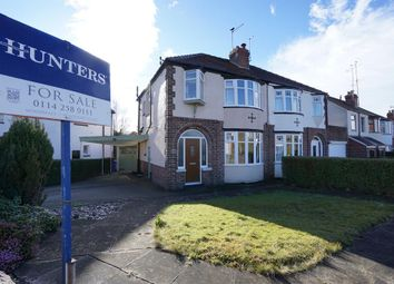 Thumbnail 3 bed semi-detached house for sale in Wingerworth Avenue, Greenhill, Sheffield