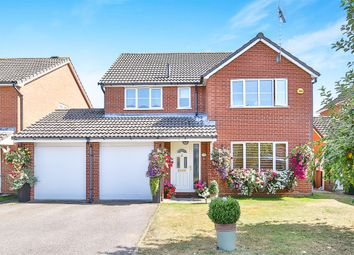 Thumbnail 4 bedroom detached house for sale in Allwood Avenue, Scarning, Dereham