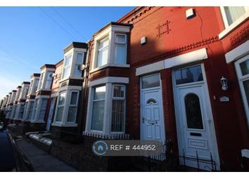 Thumbnail 3 bed terraced house to rent in Hahnemann Road, Liverpool