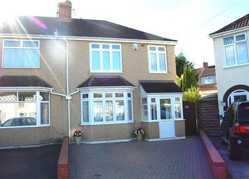 Thumbnail 3 bed semi-detached house for sale in Edna Avenue, Bristol