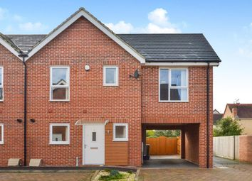 Thumbnail 3 bed end terrace house for sale in Sovereigns Way, Bletchley, Milton Keynes