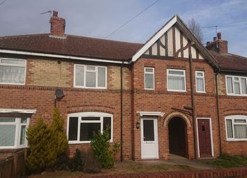 Thumbnail 3 bedroom terraced house to rent in Suffolk Road Bircotes, Doncaster