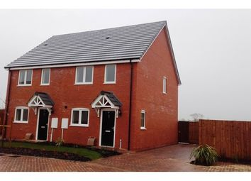 Thumbnail 2 bedroom semi-detached house for sale in 8 Poplars Road, Croft, Croft, Leicestershire