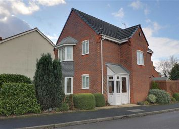 Thumbnail 3 bed detached house for sale in The Meadows, Cannock, Staffordshire