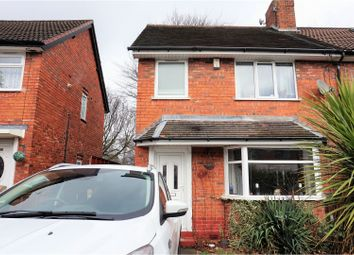 Thumbnail 3 bed semi-detached house for sale in Beech Road, Wednesbury