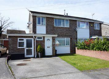 Thumbnail 3 bed semi-detached house for sale in Westward Place, Bridgend
