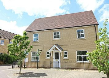 Thumbnail 4 bedroom detached house for sale in Christie Drive, Huntingdon