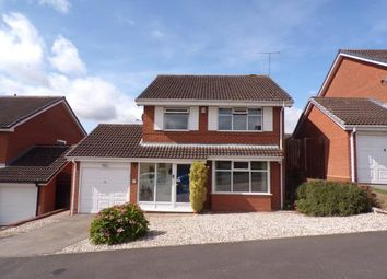 Thumbnail 4 bed detached house for sale in Ridings Lane, Church Hill North, Redditch, Worcestershire