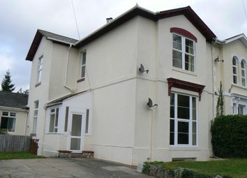 Thumbnail 2 bed flat to rent in Vine Road, Torquay