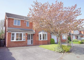 Thumbnail 4 bed detached house for sale in Loweswater Close, Warrington
