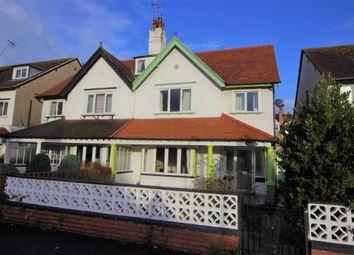 Thumbnail 4 bed semi-detached house for sale in Rosebery Avenue, Llandudno