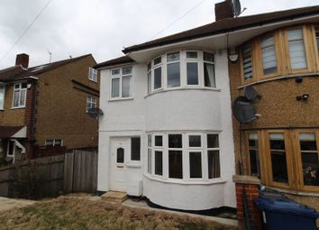 Thumbnail 3 bed semi-detached house to rent in Connaught Avenue, East Barnet, Barnet