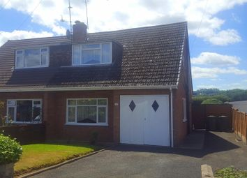Thumbnail 2 bed semi-detached house for sale in Hillside Close, Stourport-On-Severn