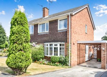 Thumbnail 3 bed semi-detached house for sale in Pear Tree Drive, Linton, Swadlincote