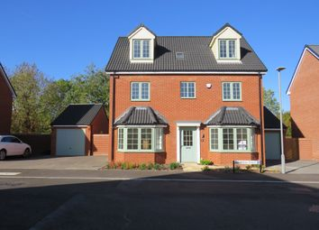 Thumbnail 5 bed detached house for sale in Devereux Court, Wavendon, Milton Keynes