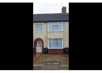 Thumbnail 3 bed terraced house to rent in Ruskin Road, Southall