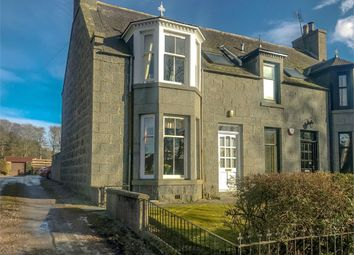 Thumbnail 3 bed semi-detached house for sale in Montgarrie, Alford, Aberdeenshire