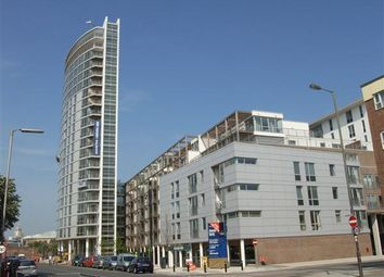 Thumbnail 1 bed flat to rent in Admiralty Tower, Queen Strret, Portsmouth