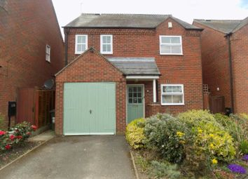 Thumbnail 3 bed detached house to rent in Bakery Close, Cosby, Leicester