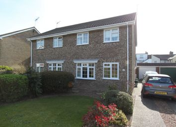 Thumbnail 3 bed semi-detached house for sale in Matthews Close, Deal