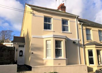 Thumbnail 3 bed semi-detached house for sale in Molesworth Terrace, Millbrook, Torpoint