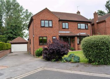 Thumbnail 4 bed detached house for sale in Meadway Crescent, Leeds Road, Selby